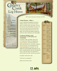 Country Creek Log Homes